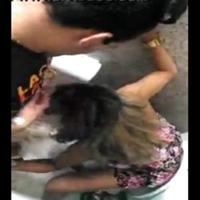 Novinha Safada bêbada flagrada mamando no banheiro do baile