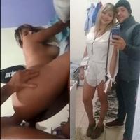 Vídeo Íntimo da Luana Briet Gemendo na piroca de quatro do namorado